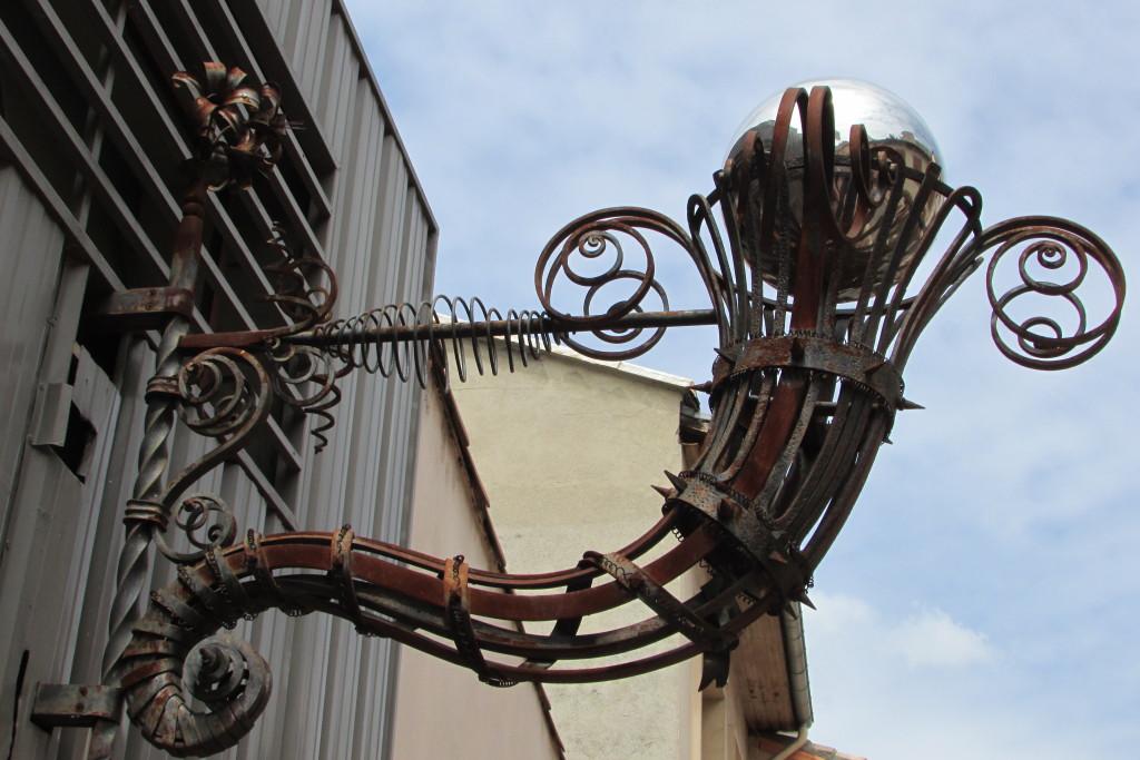 Ferronnerie d'art sur Toulouse