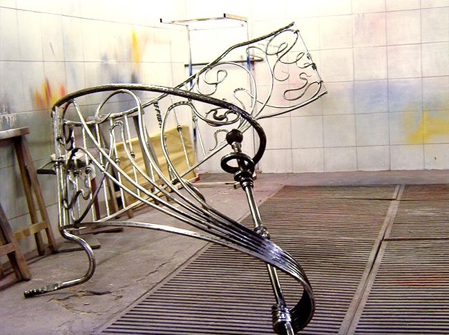 ferronnerie d'art nouveau